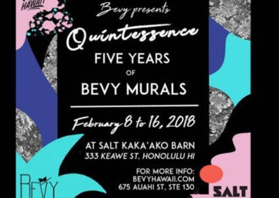 Quintessence – Five Years of Bevy Murals