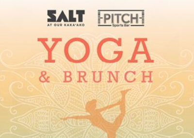 Yoga & Brunch @ SALT featuring PITCH Sports Bar