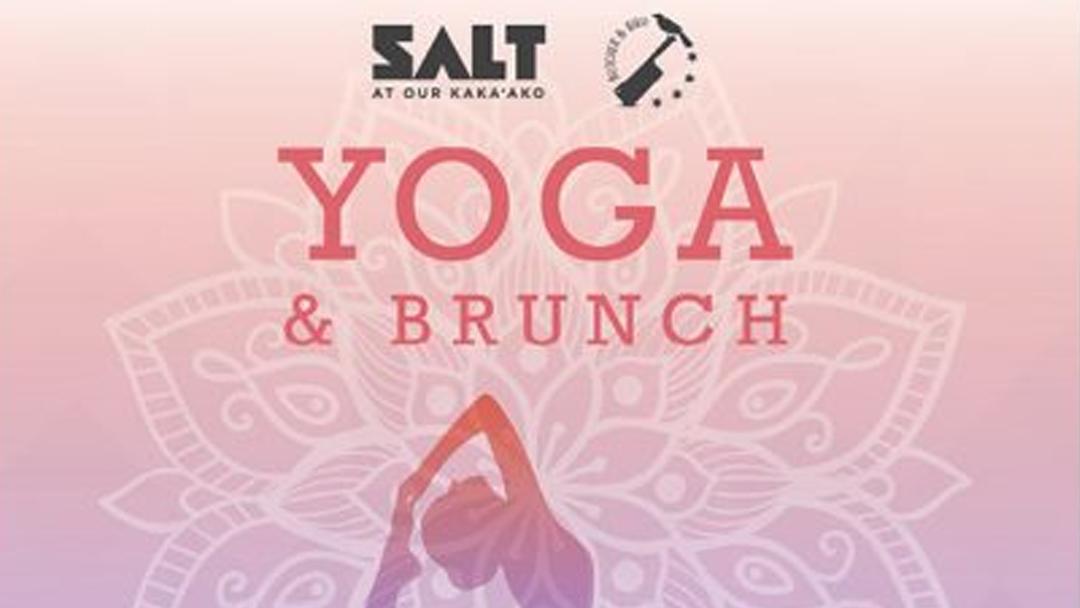 Yoga & Brunch header
