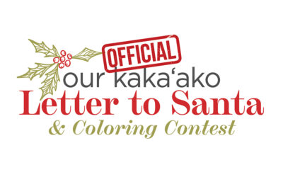 Letters To Santa + Coloring Contest