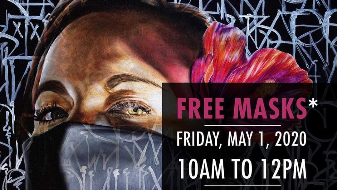 Our Kaka'ako Free Mask & Hand Sanitizer Distribution