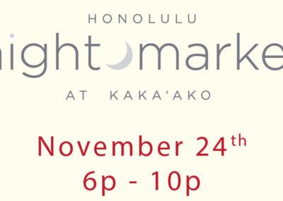 Honolulu Night Market 11-24-18