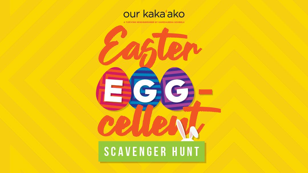 Easter EGG-cellent Scavenger Hunt