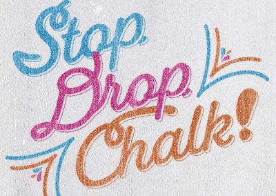 Stop, Drop & Chalk News Release