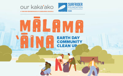 Mālama 'Āina Earth Day Community Cleanup