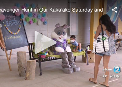 Easter Scavenger Hunt in Our Kaka'ako Saturday and Sunday