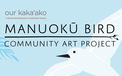 Manuokū Bird Community Art Project