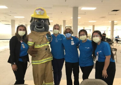 Honolulu Fire Department Assists with mobile vaccination clinics