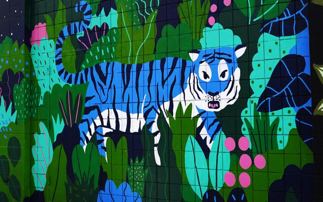 Kaka'ako Blue Tiger