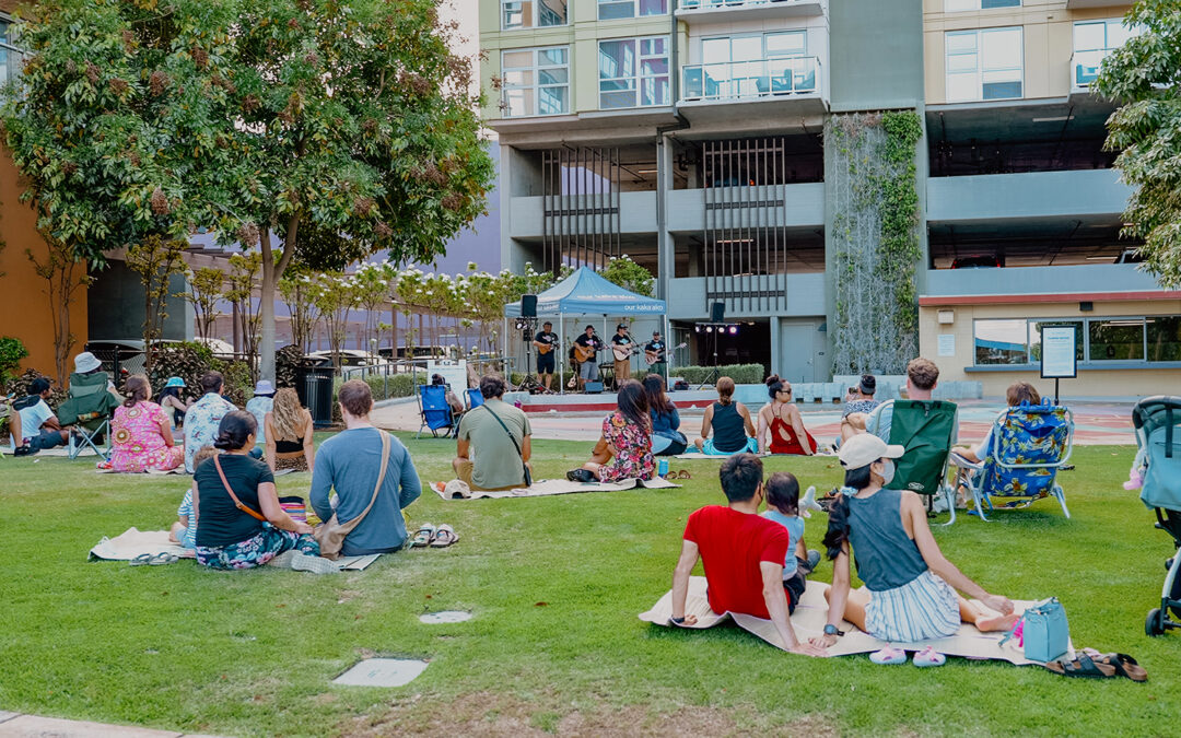 Pop up Music at Kaloko'eli Courtyard