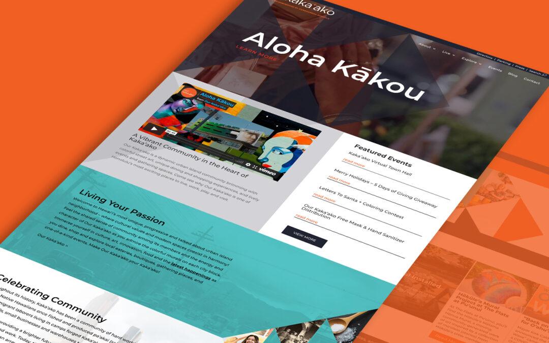 Our Kaka'ako Website Awarded 2021 PRSA Koa Hammer Award of Excellence